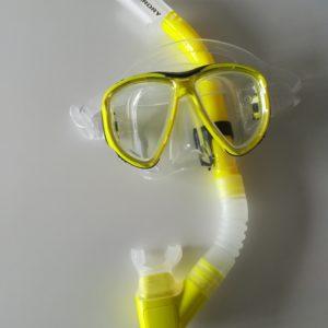 duikbrillen en snorkels